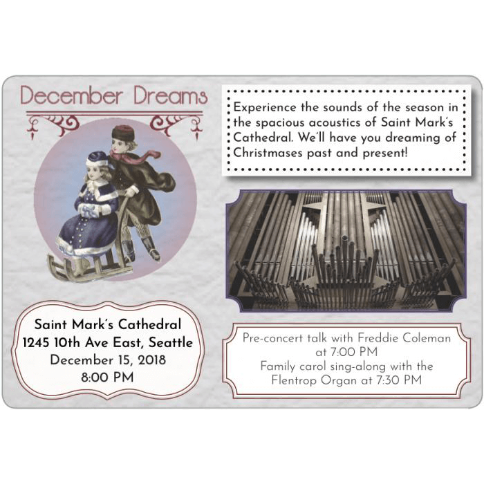December Dreams - Seattle Choral Company